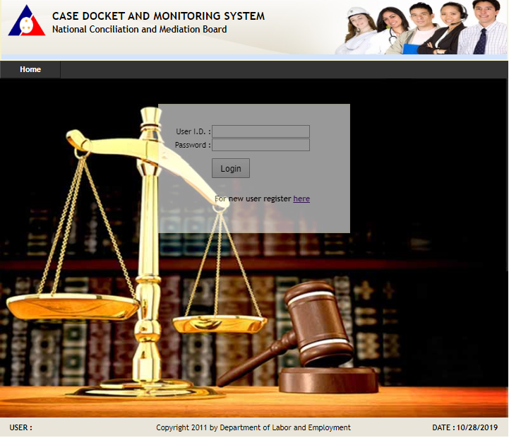 CASE DOCKET AND MONITORING SYSTEM